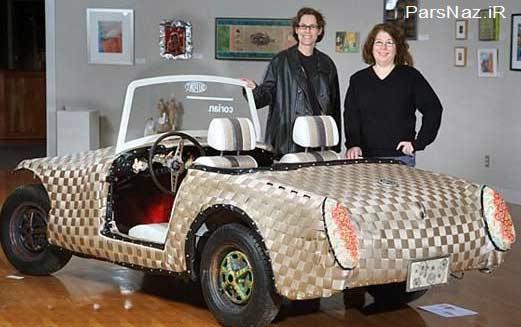 ایجاد ظاهری متفاوت و خلاقانه در خودروها (عکس)