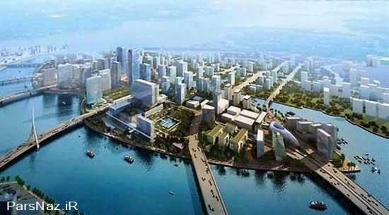 ساخت جزیره مصنوعی شگفت انگیز در امارات (عکس)