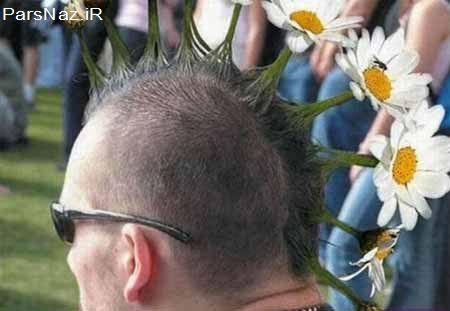 عکس مدل موهای عجیب غریب و خنده دار