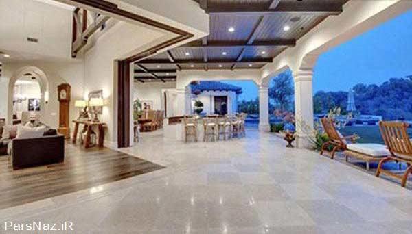 تصاویری از خانه بی نظیر بریتنی اسپیرز