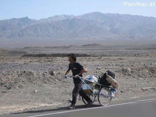 سفری با پای پیاده به چهار قاره در سراسر جهان (عکس)