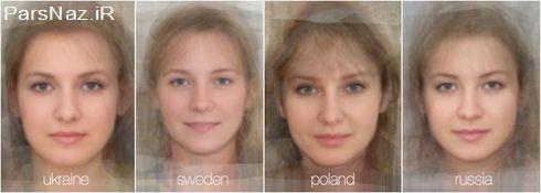 تصاویر خلاقانه و دیدنی از تفاوت چهرها