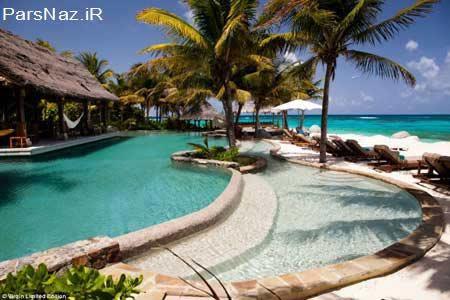 جزیره خصوصی اما با قیمتی سرسام آور (عکس)
