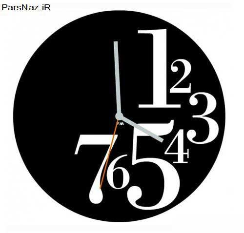 تصاویری از مدرن ترین و شیک ترین ساعت دیواری ها