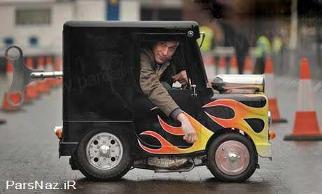 خودرویی که لقب کوچکترین را به خود اختصاص داد (عکس)