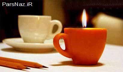 شمع های خوردنی (عکس)