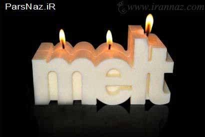 عکس+شمع+مرگ