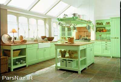 مدرن ترن طرح آشپزخانه 92 (عکس)