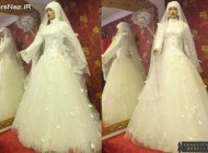 عکس هایی از مدل های لباس عروس در سال جدید