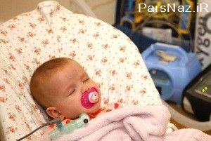 کوچولویی که مرگ او در خوابش است (عکس)