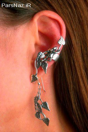 گوشواره های عجیب و فشن (عکس)
