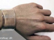 ساعت مدرن با دکمه های مخفی (عکس)