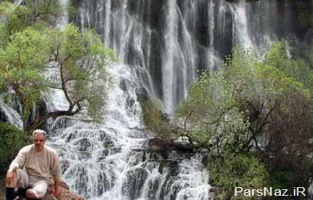 معرفی شگفت انگیزترین و زیباترین آبشار در ایران (عکس)