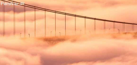 شهرهایی اشباع شده در مه (عکس)
