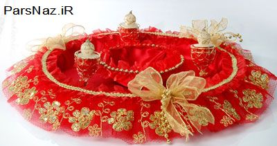 مدرن ترین تزئین سینی  حنا برای مراسم حنابندان (عکس)