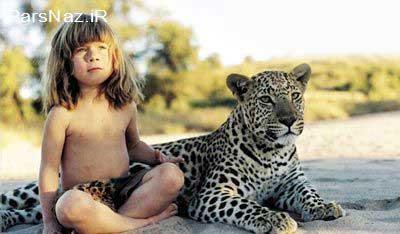 حیوانات وحشی آفریقا با این دختر دوستی دیرینه دارند