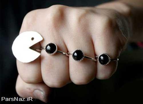 انگشترهای عجیب و جالب (عکس)