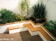 مدل هایی برای  طراحی باغچه و حیاط (عکس)