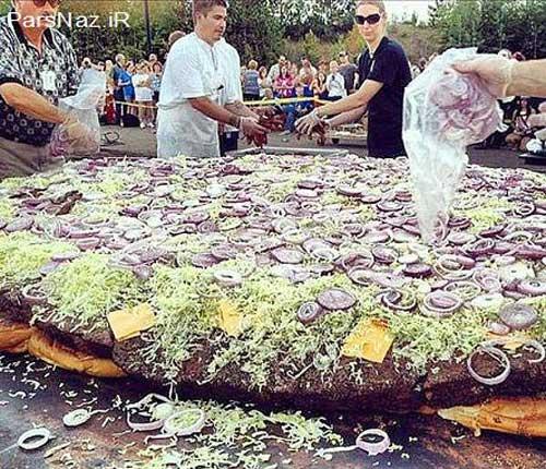 ابر خوراکی ها در دنیا (عکس)