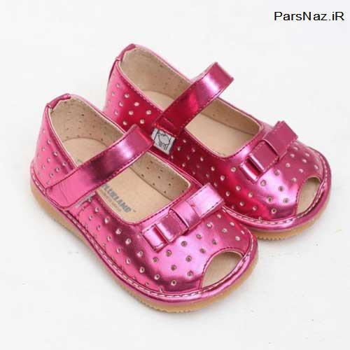 کفش های عروسکی مخصوص دختران کوچولو (عکس)
