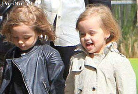 جشن  تولد 5 سالگی دوقلوهای آنجلینا جولی (عکس)