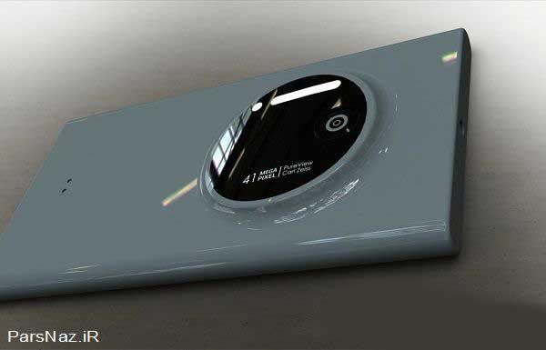 تصاویری از گوشی بی نظیر Lumia 1020