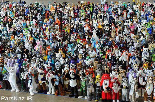 تجمع آدم عروسكی ها برای رکورد گینس (عکس)