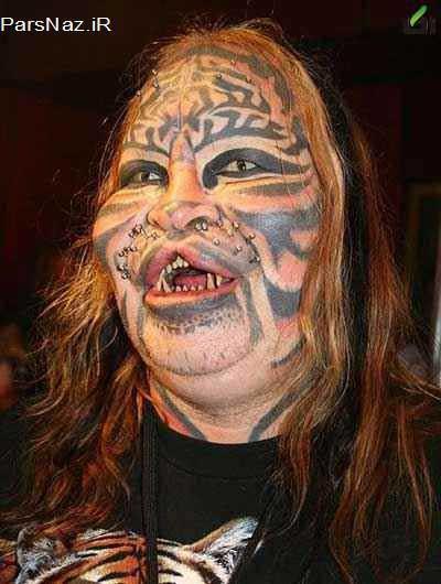 زنی که هزاران دلار خرج کرد تا زشت شود (عکس)