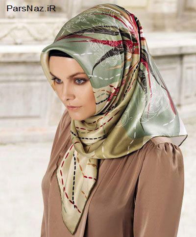 عکس مدل روسری شیک و زیبا