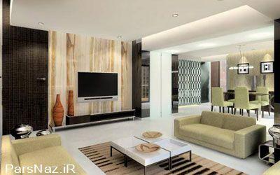 طرح هایی از دکوراسیون مدرن داخل خانه (عکس)