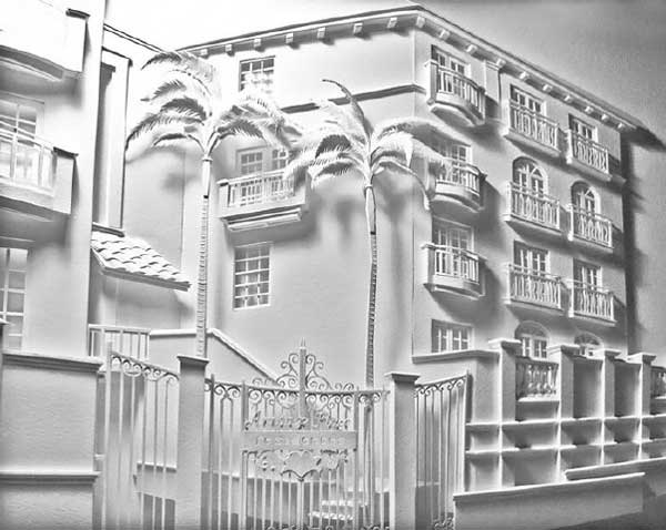 بناهای معروف و عجیب با مصالح کاغذی (عکس)