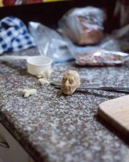 سر آدم از نوع نان (عکس)