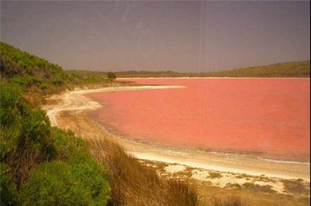دریاچه هایی با رنگ های خاص (عکس)