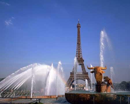 رونمایی از زیبایی های پایتخت فرانسه (عکس)