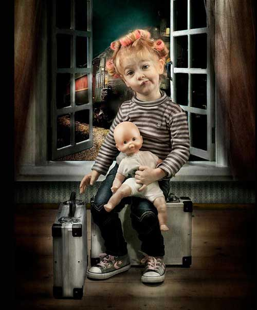 عکس بچه های ناز و مامانی