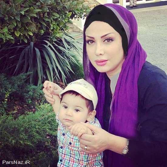محسن چاوشی و زن و بچه اش (عکس)