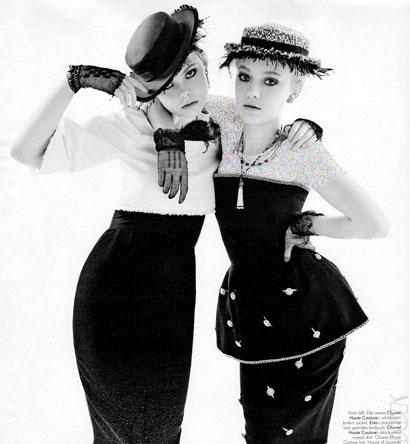 دو خواهر که دنیای مد کولاک به پا کردند (عکس)