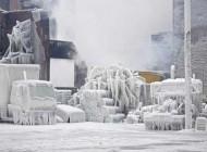 شهر ترسناک و سراسر یخ (عکس)