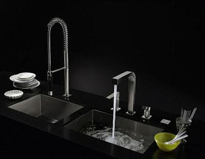 سینک ظرفشویی به این زیبایی دیده بودید؟ (عکس)