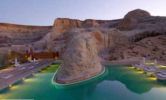 این هتل را در بیابان پیدا کنید  (عکس)