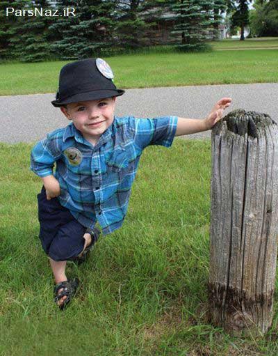 پسر 4 ساله ای که به عنوان شهردار شهر منتخب شد  (عکس)