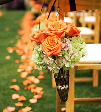 یک عروسی پاییزی داشته باشیم (عکس)