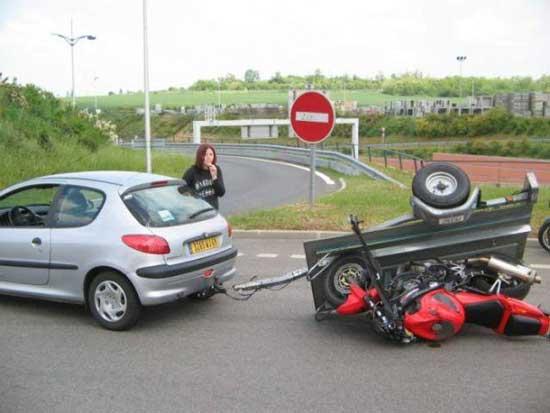 عکس های خنده دار از رانندگی خانم ها