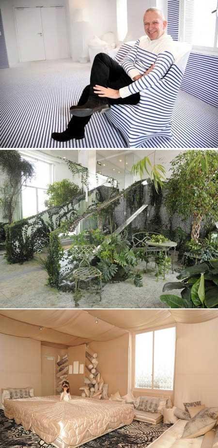 تصاویر کمتر دیده شده  از آپارتمان های غیر عادی و جالب