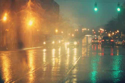 عکس های زیبا از قطره های زیبای باران