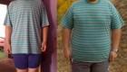 کاهش وزن عجیب و خوشحال کننده یک جوان ایرانی (عکس)