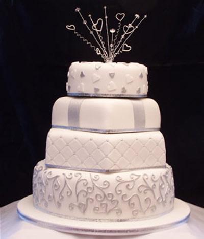 جدیدترین مدل های کیک عروسی (عکس)