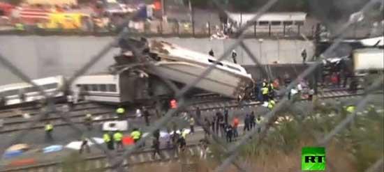 حادثه خارج شدن قطار مسافربری از ریل