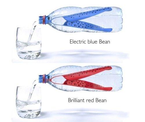 بطری آب با امکانات چرخه ی بازیافت (عکس)
