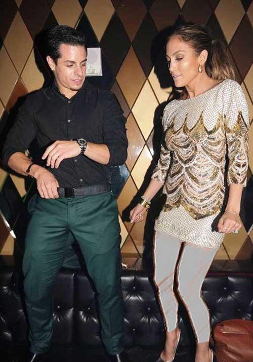 عکس های جنجالی جنیفر لوپز و نامزدش، قبل از جشن تولدش